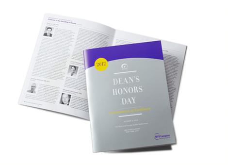 Dean's Honors Day Program
