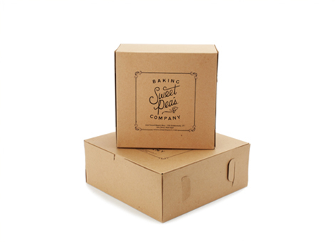 Pastry Boxes and Shopping Bags