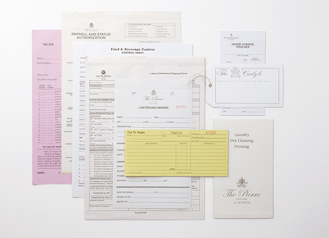 Hotel: Stationery/Forms 03